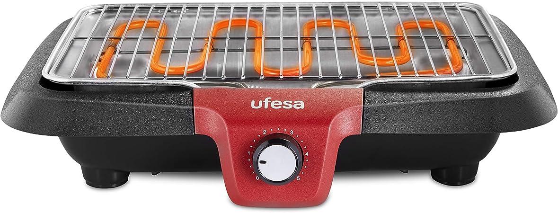 Oferta amazon: Ufesa BB7640 - Barbacoa eléctrica con Sistema