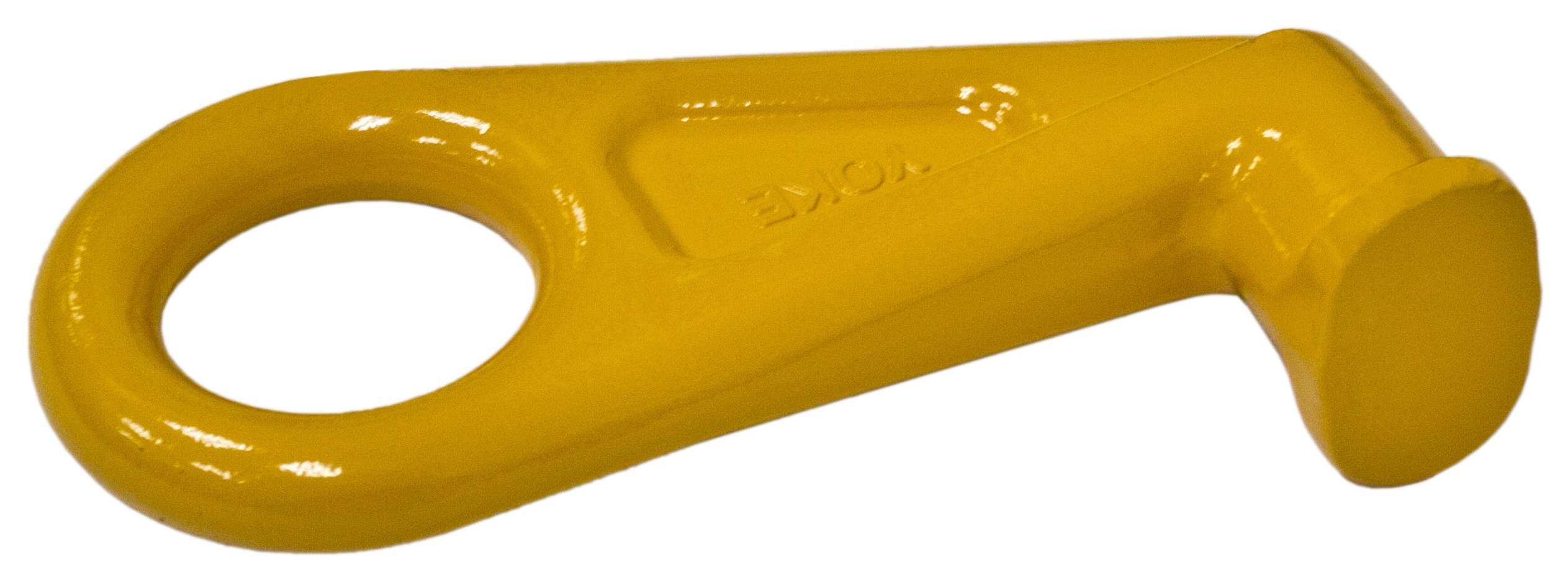 Yoke G8-179-STR Sea Container Hook, Straight Version, Yellow