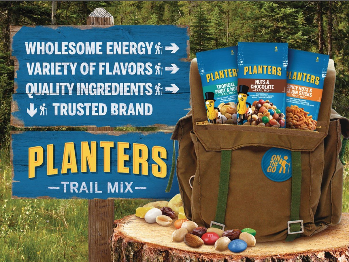 Planters Nut and Chocolate Trail Mix, 2 oz. Single Serve Bags /(Pack on diamond nuts, frito lay nuts, target nuts, kraft nuts, sam's club nuts,