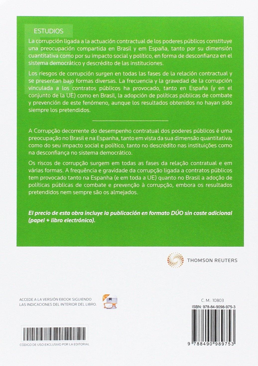 La respuesta jurídica a la corrupción en la contratación pública en Brasil y España Papel + e-book : A resposta jurídica à corrupção na contratação pública em Brasil e Espanha Monografía: Amazon.es:
