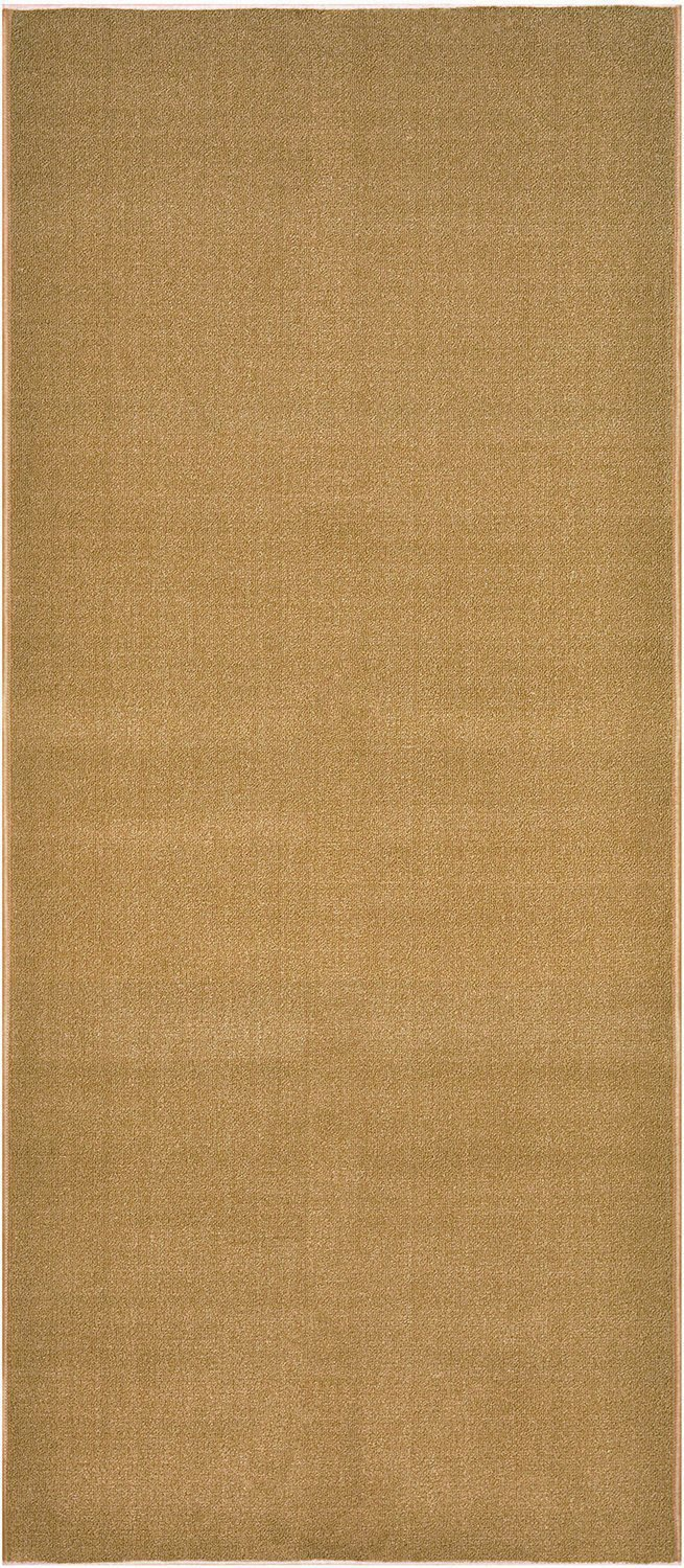 Solid Brown or Beige Roll Runner 27 in or 31 1/2 in or 36 in Wide x Your Choice Length Slip Resistant Rubber Back Area Rugs and Runners (Beige / Camel, 22 ft x 27 in)