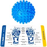 Body Back Company's Footstar Massage Ball - Pain and Spasm Reliever - Plantar Fasciitis Treatment
