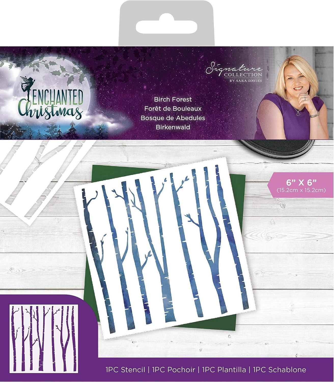 Luxuri/öse Matte Spiegelkarte Sara Davies Enchanted Forest Signature Collection