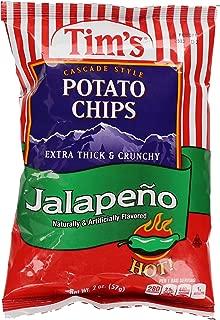 product image for Tim's Cascade Potato Chips, Jalapeno, 2 oz