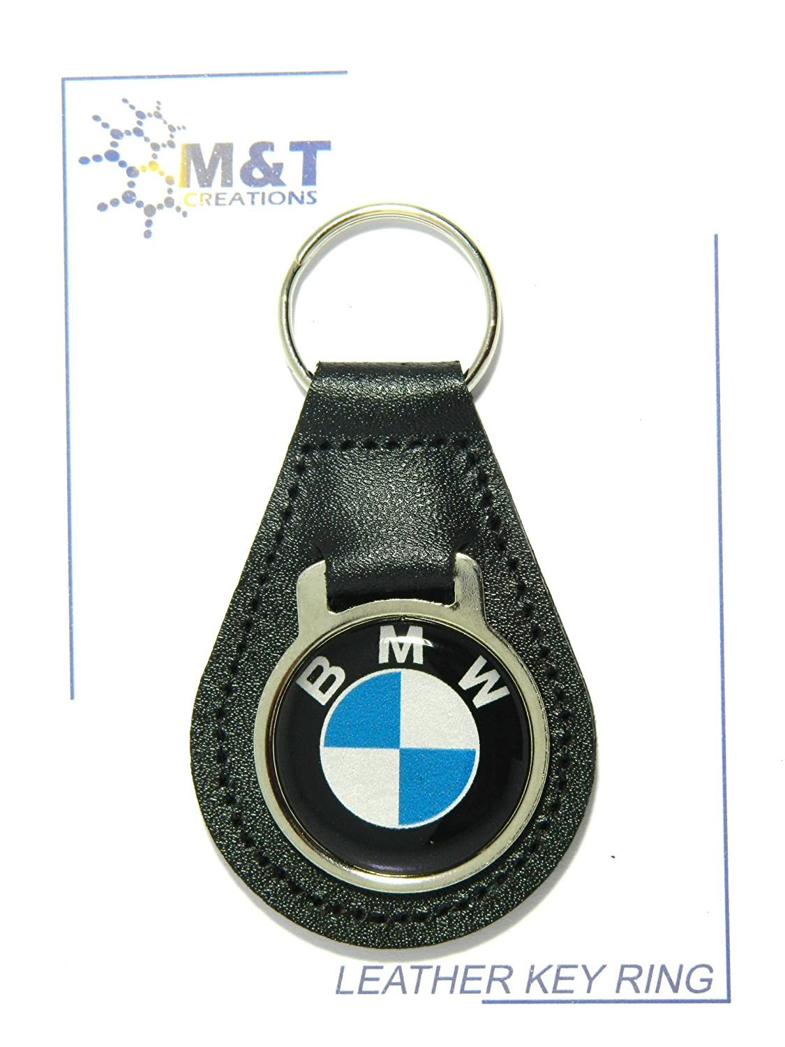 MT Products LEATHER KEYRING MEDALLION INSERT 3D PLASTIC IMAGE