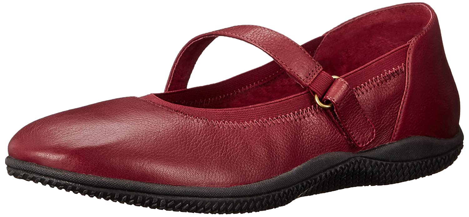 SoftWalk Women's Hollis Flat B00S0120CM 6 B(M) US|Dark Red