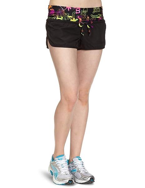 1253547021578e Puma Damen Badeshorts Jamaica Beach Hot Pants, black, XS, 819434 02