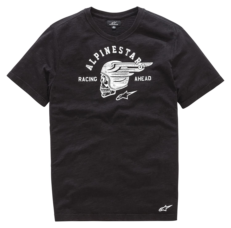 Alpinestars Herren Long Sleeve Tee Ramp Men& 039;s Heritage T-Shirt Modern Fit Short Sleeve