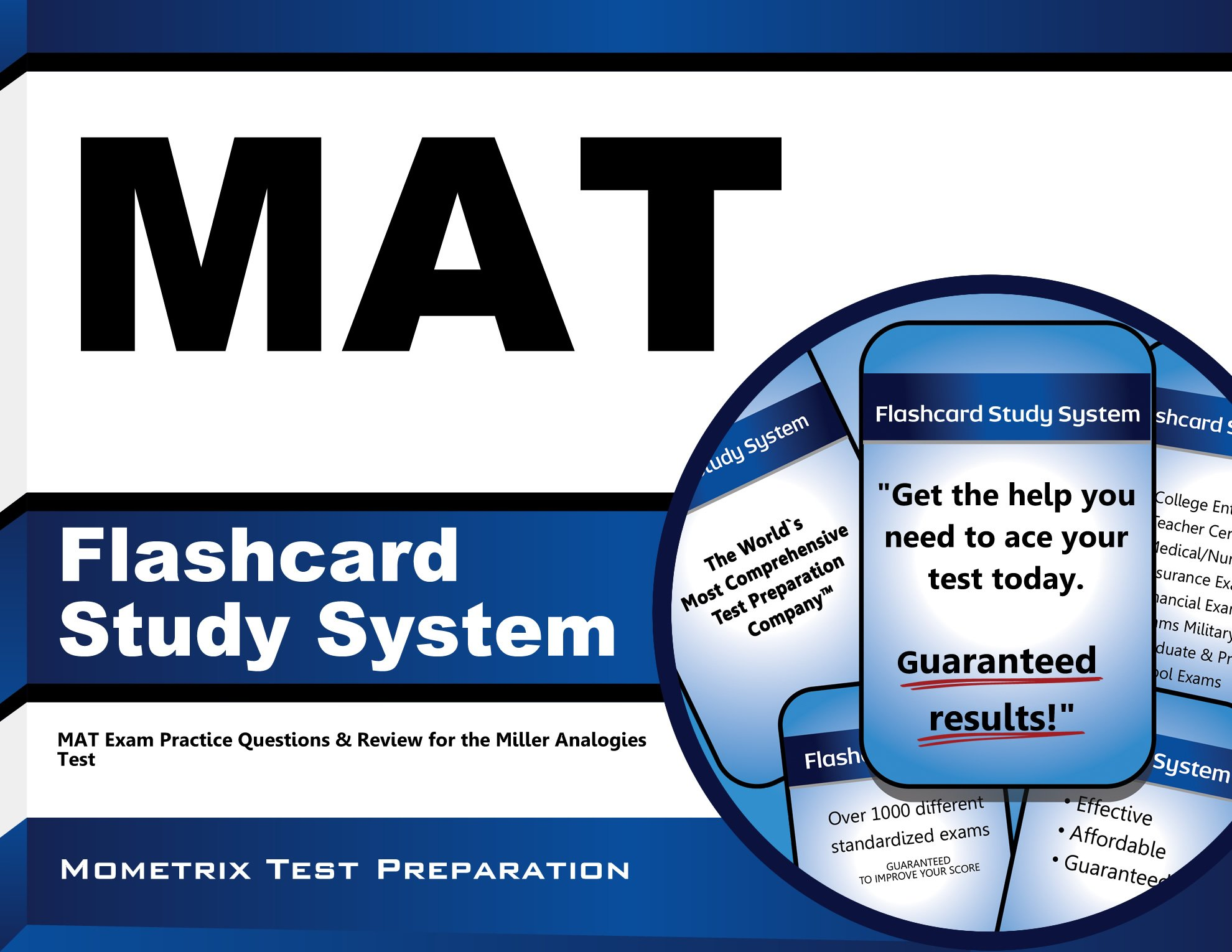 Download MAT Flashcard Study System: MAT Exam Practice Questions & Review for the Miller Analogies Test PDF