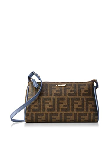 a532f7b2ec01 Fendi Women s Cross-Body Bag One Size Blue Size  One Size  Amazon.co ...