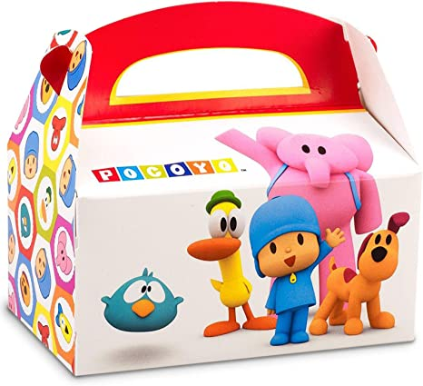 Amazon.com: BirthdayExpress Pocoyo Party Supplies - Cajas ...