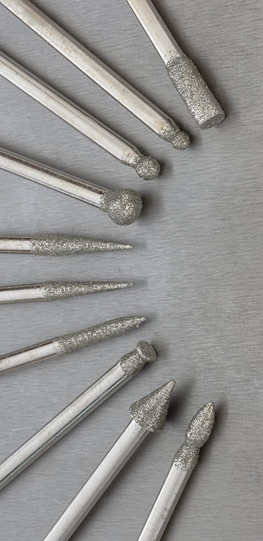 SE 20-Piece Assorted Diamond Burrs Set