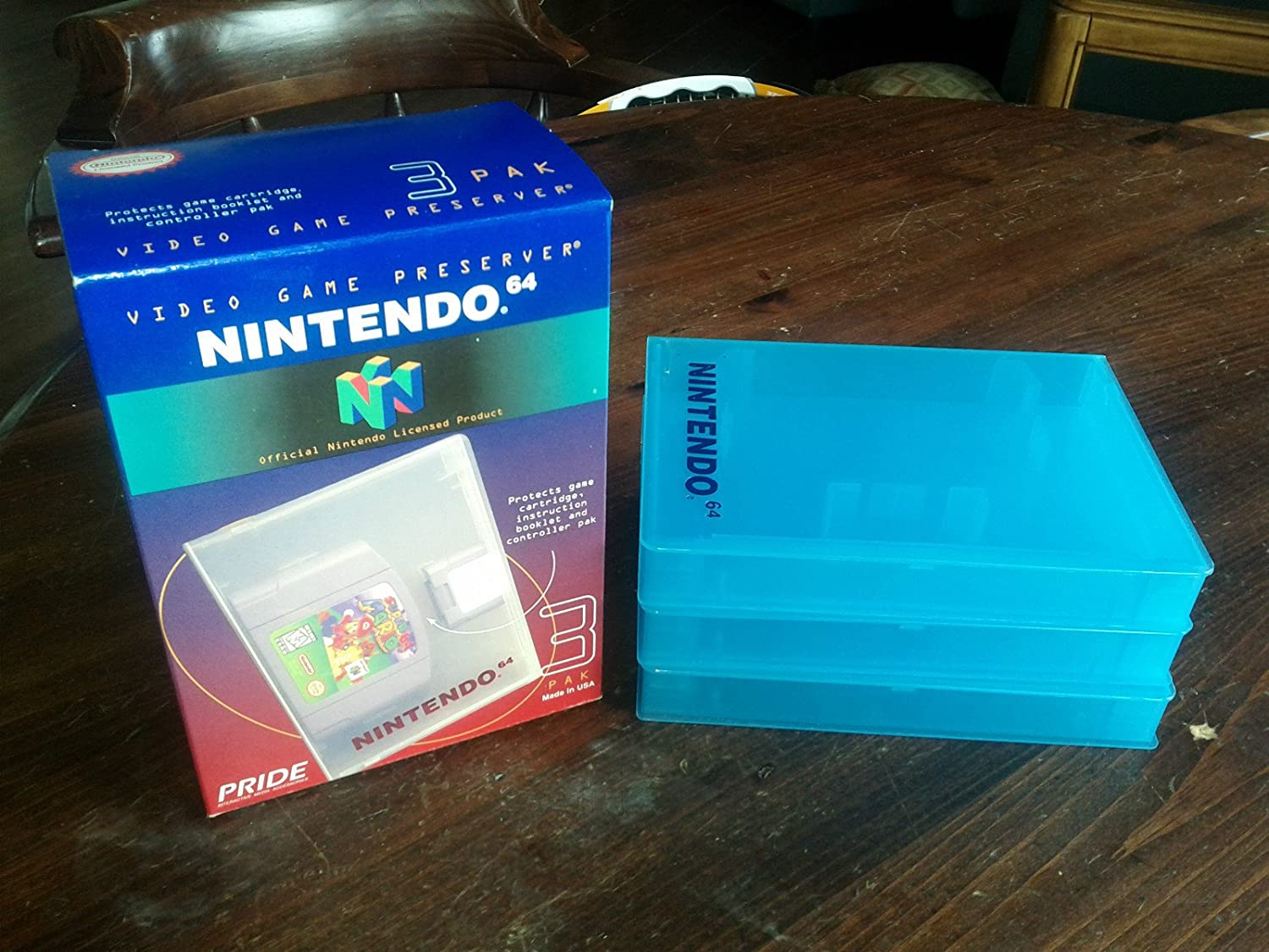 Nintendo 64 Clear Game Case 3 Pack Nintendo 64 Computer And Video Games Amazon Ca
