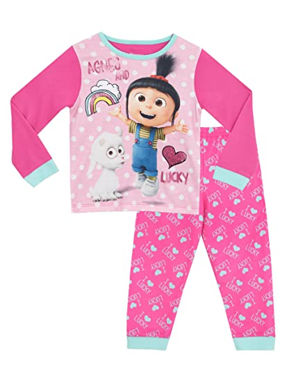 Despicable Me Girls Agnes & Lucky Pajamas ...