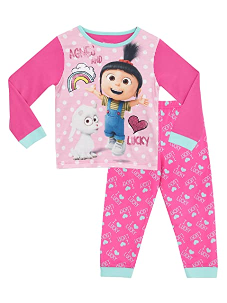 Mi Villano Favorito - Pijama para niñas - Agnes & Lucky - 12 - 13 Años