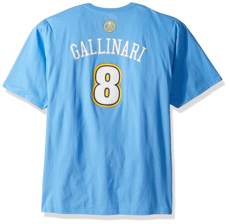 Adidas Denver Nuggets NBA Danilo Gallinari Nombre y número Camiseta, XL, Azul Claro: Amazon.es: Deportes y aire libre