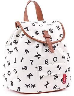 97ea6a9a76 Backpack Kidzroom Black   White Numbers Children s Backpack