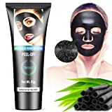 Amazon Price History for:Blackhead Remover Mask, Tansmile Activated Charcoal Purifying Peel Off Mask Black Deep Cleansing Mud Face Mask for Blackhead (60g)