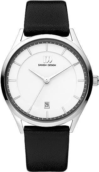 Mit Danish Analog Leder Armband Iq12q1214 Quarz Uhr Design Herren byvY7f6g