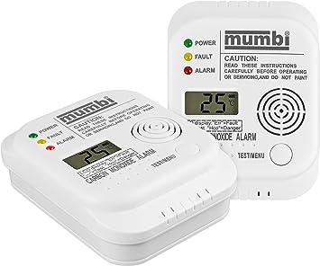 mumbi CO102 CO detector de monóxido de carbono detector de gas