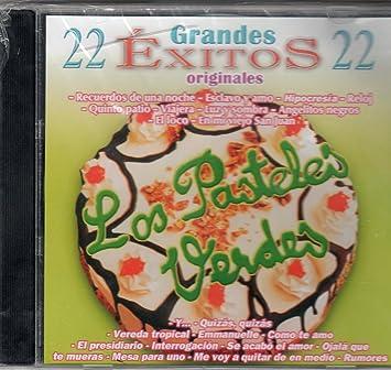 """Los Pasteles Verdes """"22 Grandes Exitos Originales"""""""