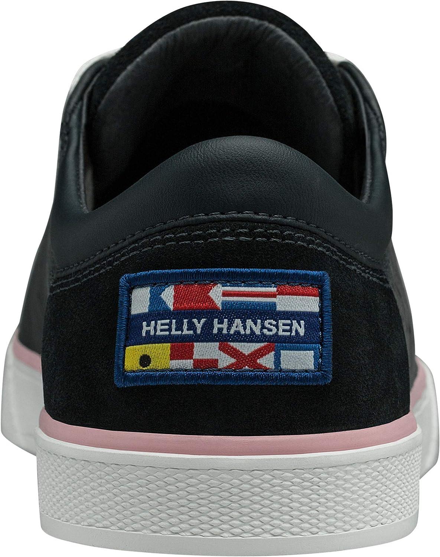 Helly Hansen Copenhagen Sneakers voor dames, wit, 40 EU Blue (Navy/Powder Pink/Off White 597)