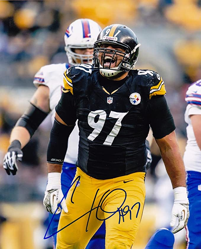 31499abda Autographed Cameron Heyward Photograph - 8x10 - Autographed NFL Photos at  Amazon s Sports Collectibles Store