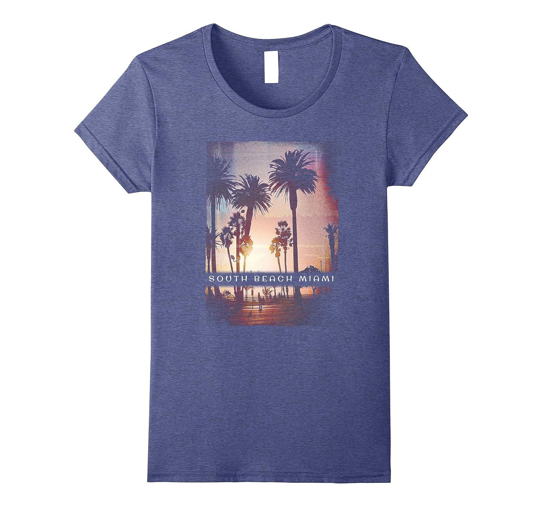 39dfd33ba21cfc Amazon.com  South Beach Shirt Miami Tshirt Florida Tee Men Women Kids   Clothing