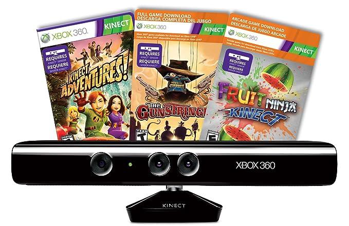 Microsoft Xbox 360 Kinect sensor - accesorios de juegos de ...