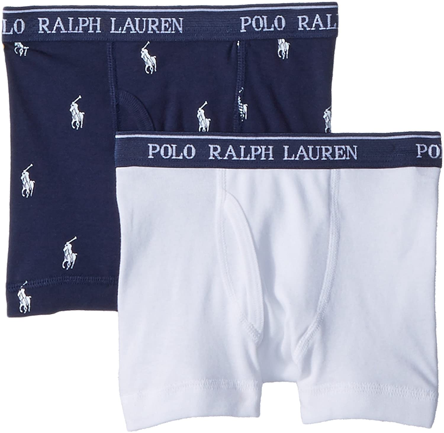 Polo Ralph Lauren Boy's Boxer Briefs 2 Pack Polo Ralph Lauren Kids