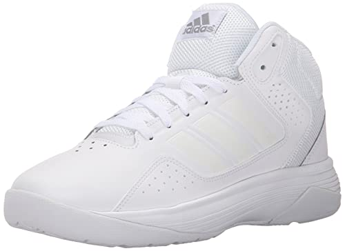 newest b37ce 11136 adidas Performance Men s Cloudfoam Ilation Mid Basketball Shoe,White White Clear  Onix Grey