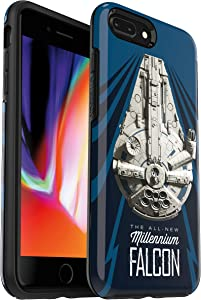 OtterBox Symmetry Series Star Wars Case for iPhone 8 Plus & iPhone 7 Plus (ONLY) Millennium Falcon
