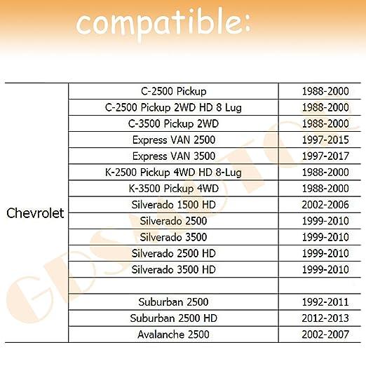 Amazon GDSMOTU 600 Lug Chevy GMC Wheel Adapters 600pc 600x6060 To Cool Chevy 8 Lug Bolt Pattern