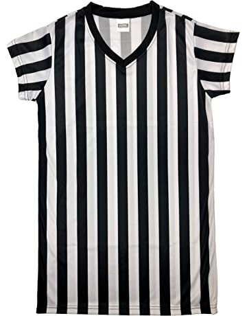 1234c07b1291c Murray Sporting Goods Women's Black and White Stripe Referee Shirt,  Official Jersey for Refs,