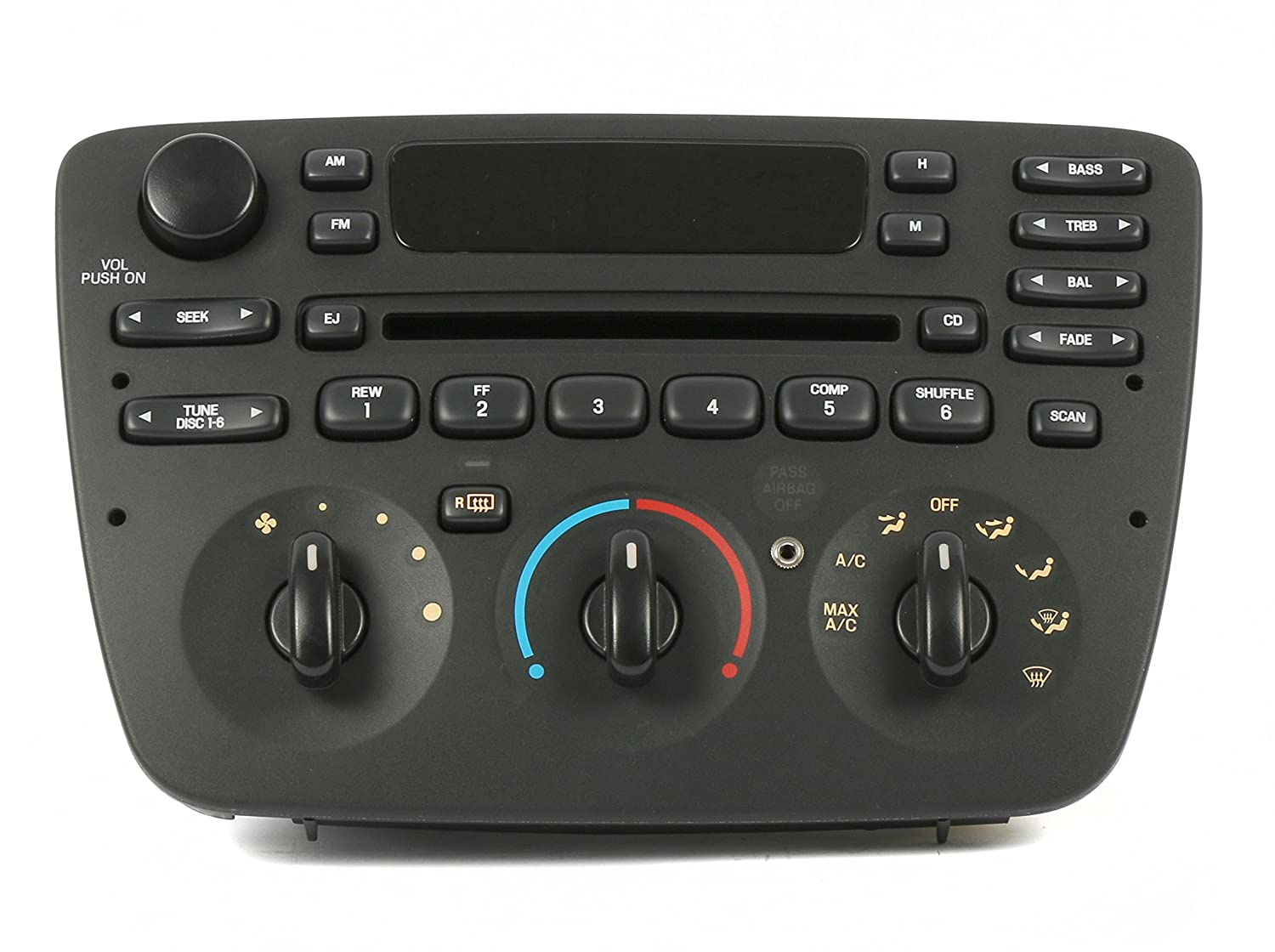 Amazon.com: Ford Taurus Sable 04-07 AM FM CD Player Radio w Aux Input - 90  Day Warranty: Car Electronics