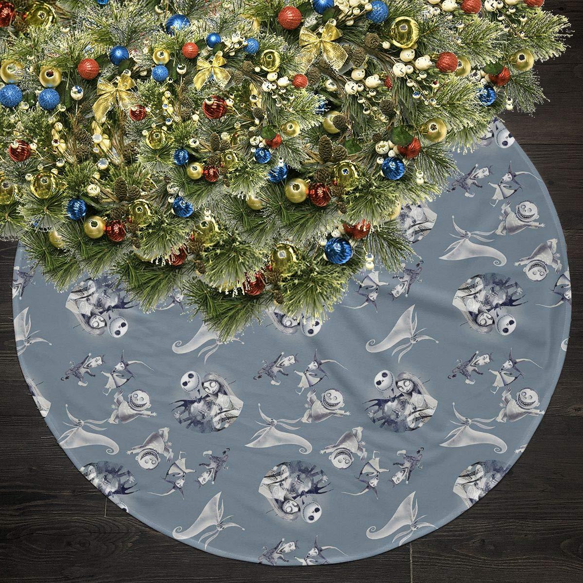 Choirfun 35 5 Merry Christmas Tree Skirt The Nightmare Before