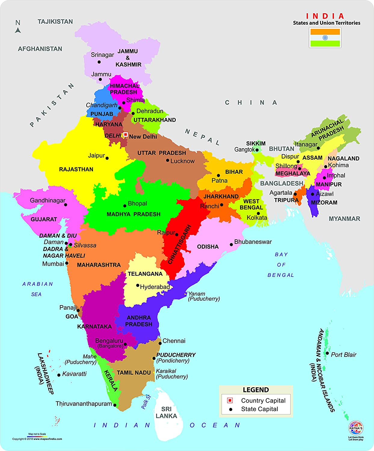 Ratna's Educational India MAP Jigsaw Puzzle (99 Pieces) on china map, africa map, greece map, indian subcontinent map, california map, germany map, sri lanka map, croatia map, karnataka map, andhra pradesh map, france map, arabian sea map, poland map, malaysia map, canada map, norway map, ireland map, iceland map, cyprus map, texas map, cuba map, korea map, thailand map, czech republic map, russia map, argentina map, egypt map, italy map, europe map, maharashtra map, portugal map, new zealand map, japan map, time zone map, australia map, brazil map, spain map,
