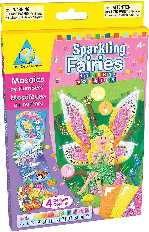 Sticky Mosaics Sparkling Fairies Sticky Mosaics Sparkling Line 63788