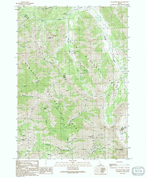 Amazon Com Yellowmaps Star Hope Mine Id Topo Map 1 24000 Scale