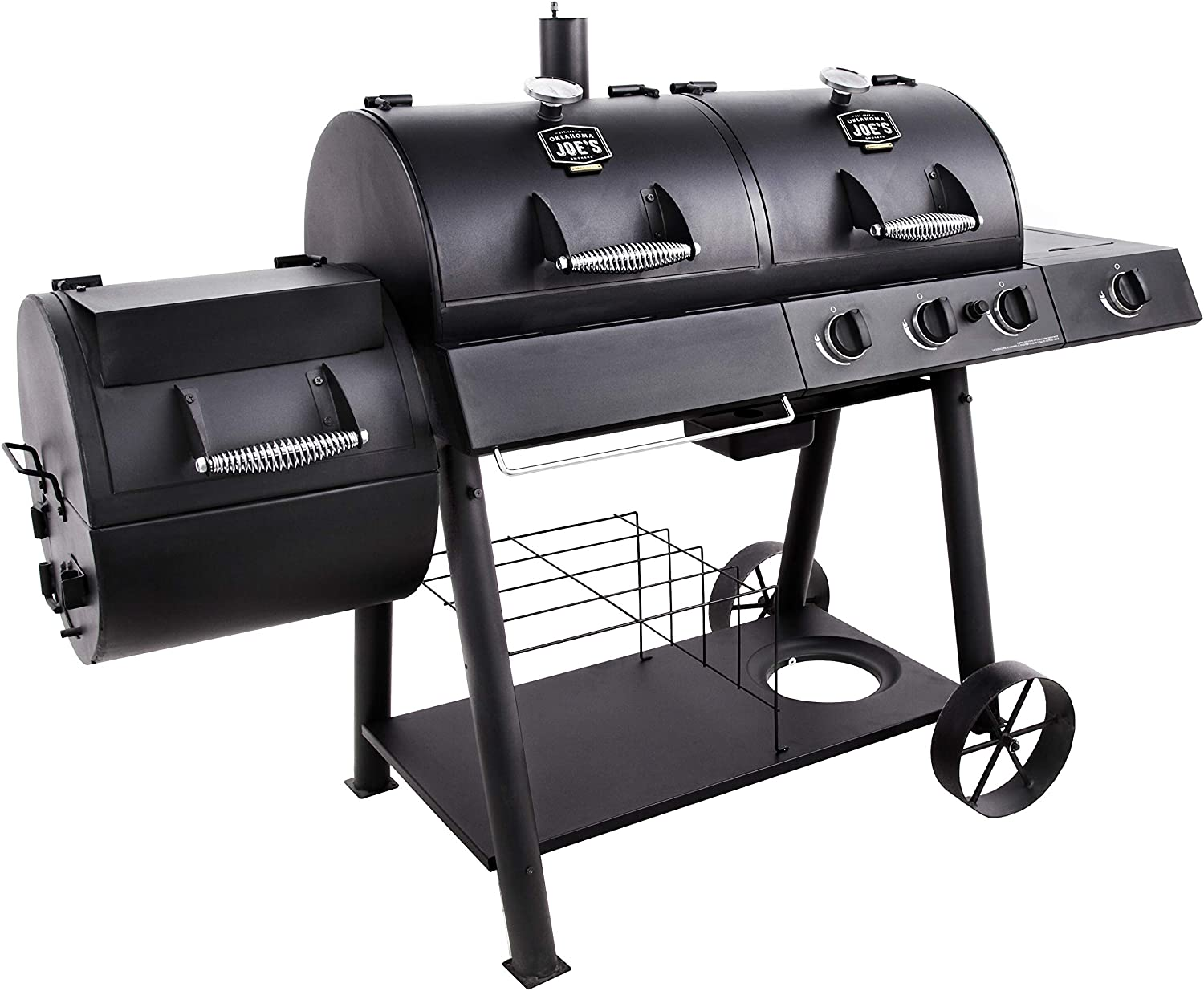 Oklahoma Joe's Charcoal/LP Gas/Smoker Combo review