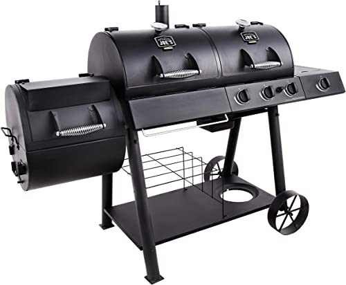 Oklahoma Joe s Charcoal LP Gas Smoker Combo
