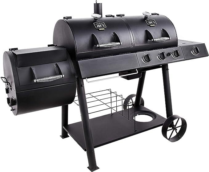 Oklahoma Joe's Charcoal/LP Gas/Smoker Combo - Best Cooking Surface