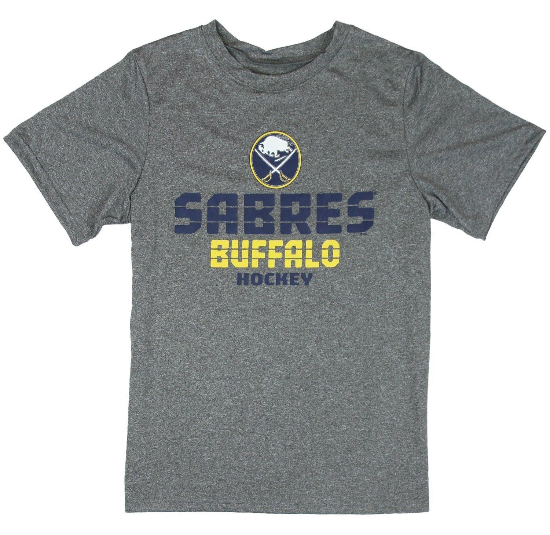 【破格値下げ】 Buffalo 3L Sabres NHL Little B07341WX94 Boys and Big Boys半袖Tシャツ – Big グレー 3L B07341WX94, とろとろサーモンの喜速久:98f27d93 --- a0267596.xsph.ru