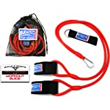 Bucwild Sports Baseball Resistance Bands Youth & Adult Athletes Safely Improve Pitching Throwing Batting & Arm Strength Used