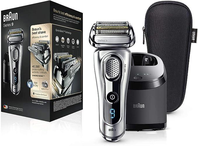 Braun Series 9 9292 cc - Afeitadora eléctrica hombre, para barba ...