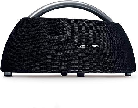 Oferta amazon: Harman Kardon Go + Play - Altavoz Bluetooth portátil con batería Recargable y micrófono Dual, Color Negro