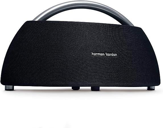 Harman Kardon Go Play Tragbarer Bluetooth Lautsprecher Mit Dual Mikrofon Konferenzsystem Schwarz Audio Hifi