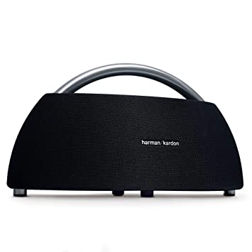 Harman Kardon Go + Play Portable Bluetooth Speakers (Black)