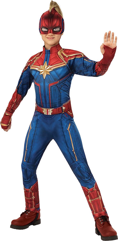 Amazon Com Girls Captain Marvel Hero Suit Deluxe Superhero Costume Toys Games Captain marvel looks to keep the streak intact. girls captain marvel hero suit deluxe superhero costume