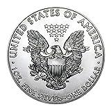 2018 American Silver Eagle with Airtite Holder .999 Fine Silver Dollar Brilliant Uncirculated